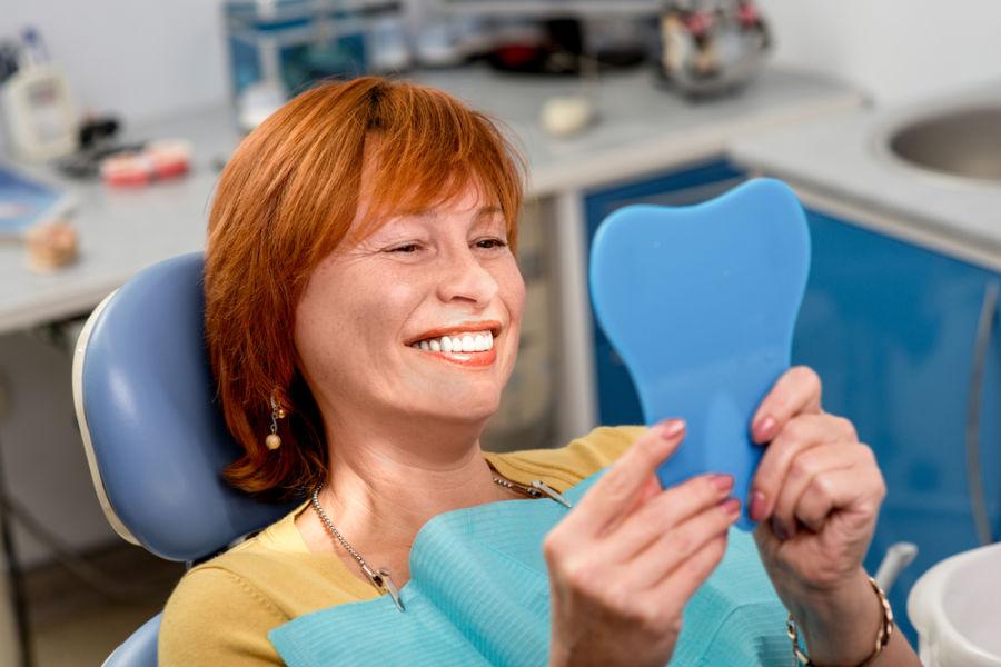 quincy dental crown patient