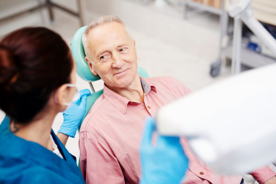 dental fillings patient